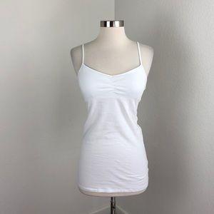 SO white perfect tunic cami top